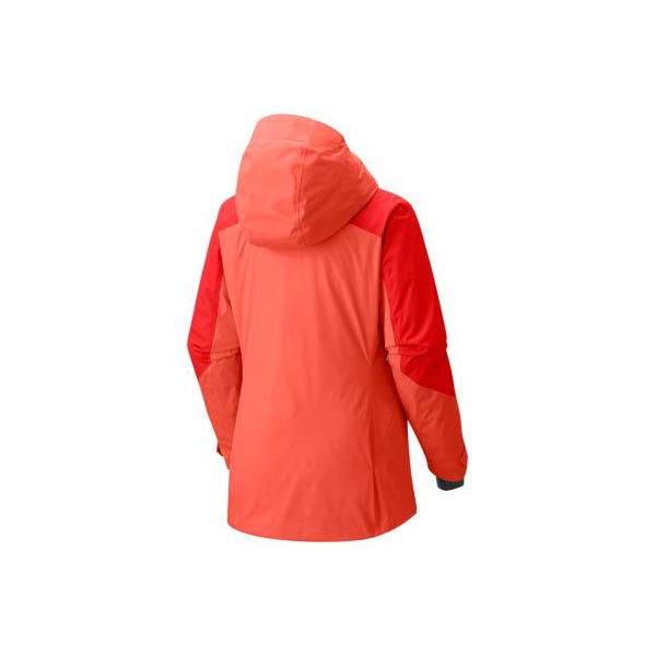 Cheap Mountain Hardwear Women Bright Ember, Fiery Red Polara™ Insulated Jacket Online