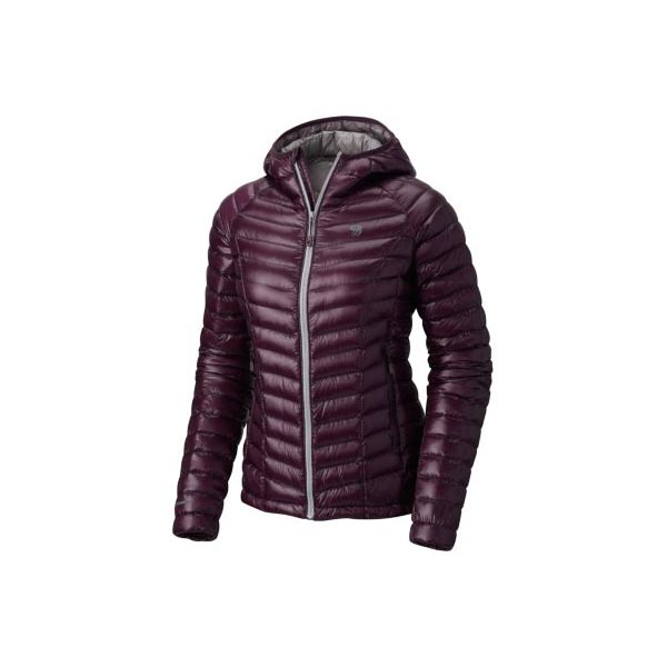 Cheap Mountain Hardwear Women Dark Tannin Ghost Whisperer™ Down Hooded Jacket Online