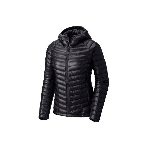 Mountain Hardwear Women Ghost Whisperer™ Down Hooded Jacket Black On Sale