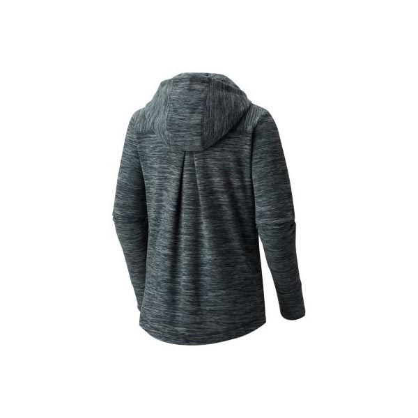 Mountain Hardwear Women Snowpass™ Hoody Heather Blue Spruce On Sale