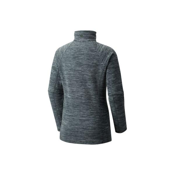 Cheap Mountain Hardwear Women Heather Blue Spruce Snowpass™ Fleece Zip T Online