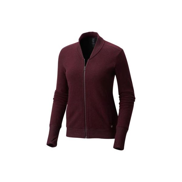 Mountain Hardwear Sarafin™ Long Sleeve Bomber Women Cote Du Rhone Outlet Store