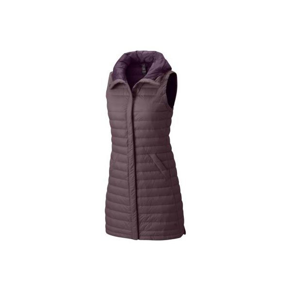 Cheap Mountain Hardwear Women Purple Sage PackDown™ Vest Online